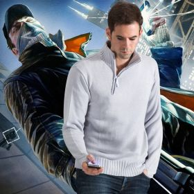 Watch Dogs Aiden Ride Sweater Costume