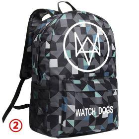 Watch Dogs Lattice Schoolbag Backpack