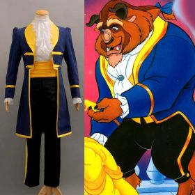 Beauty and the Beast Prince Adam Uniform Outfit Cosplay Costume