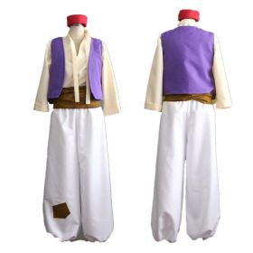 Animation Aladdin Prince Halloween Party Cosplay Costume