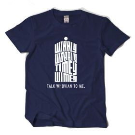 Doctor Who Talk Whovian To Me T-shirt