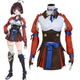 Kabaneri of the Iron Fortress Mumei Battle Cosplay Dress