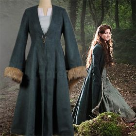 Game of Thrones Catelyn Stark Dress Cosplay Costume