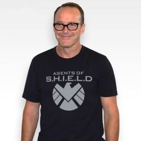 Agents of S.H.I.E.L.D. Logo Cosplay Tee Shirt