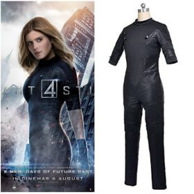 Fantastic Four Invisible Girl Cosplay Costume