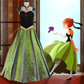 Disney Frozen Anna Coronation Dress Costume