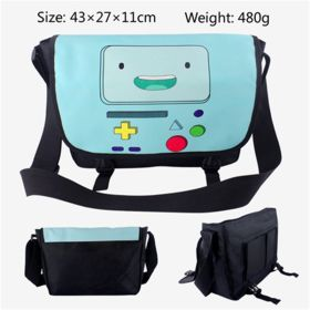 Adventure Time with Finn and Jake BMO Messenger Shoulder Bag