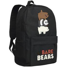 We Bare Bears Shoulder Backpack School Bag