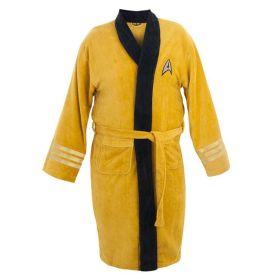 Star Trek Captain Kirk Cotton Long Bathrobe Cosplay Pajama