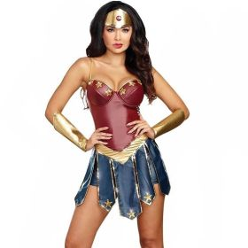 Wonder Woman Cosplay Costumes for Adult Women Halloween Party