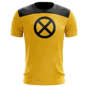 Deadpool 2 Short Sleeve Round Neck Cosplay T-shirt