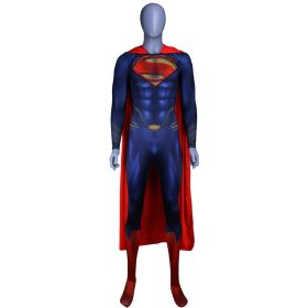 Superman Man of Steel 2 Cosplay Costume Tights Jumpsuits for Adult and Kids