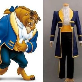 Beauty and the Beast Prince Beast Cosplay Costume Halloween Party Stage Performance Costumes