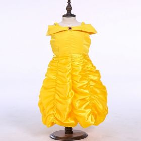 Princess Bella Dress Beauty and the Beast Cosplay Costumes for Girls
