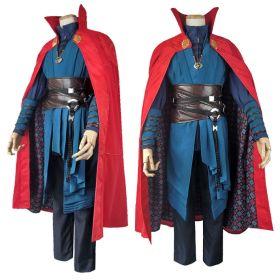 Marvel Movie Doctor Strange Stephen Strange Cosplay Costume Unisex Halloween Cosplay Costume Sets