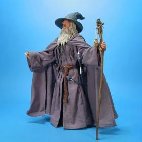 The Lord of the Rings Gandalf Mithrandir Cosplay Costume Halloween Wizard Cosplay Sets