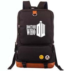 Doctor Who Unisex School Bag Computer Travel Backpacks