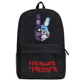 Five Nights at Freddy's Cartoon Printed Backpack Students School Bags
